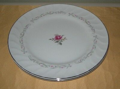 Royal Swirl Fine China of Japan 7 Dinner Plates 3 Cups
