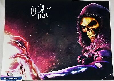 Alan OPPENHEIMER SIGNED 11x14 Photo SKELETOR MOTU BECKETT BAS COA 235 FILMATION
