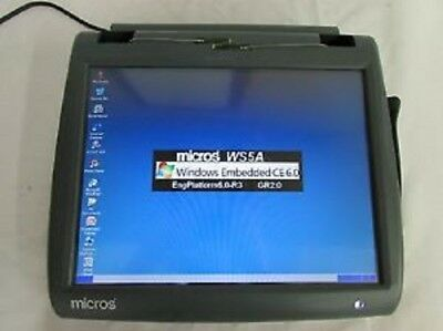 "Micros WS5A POS workstation 15"" no stand ~ for 9700, 3700, E7"