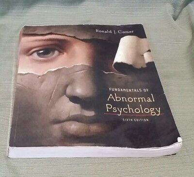 Fundamentals Of Abnormal Psychology By Ronald J Comer 483