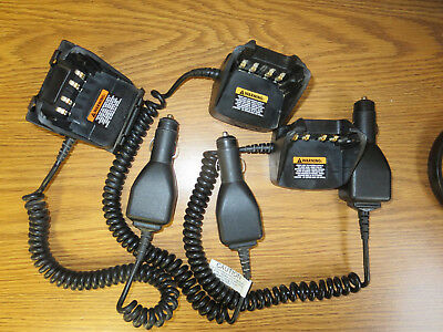 Motorola Vehicular Charger - Rln6433A  Lot Of 3