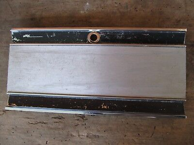 1966-1970 mopar b body console top plate lid charger road runner gtx super bee
