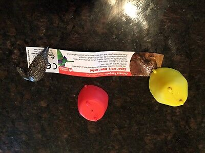 Yowie CHINESE PANGOLIN US Surprise Egg Mini Figure With Paper & Egg