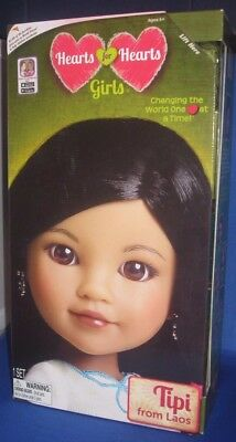 Heart For Heart Girls Tipi (Laos) Collector Doll World Vision, New