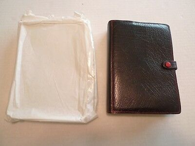 Filofax-Calf Leather Planner & Inserts- Vintage-Made @ Uk-New Old Stock+ Wrapper