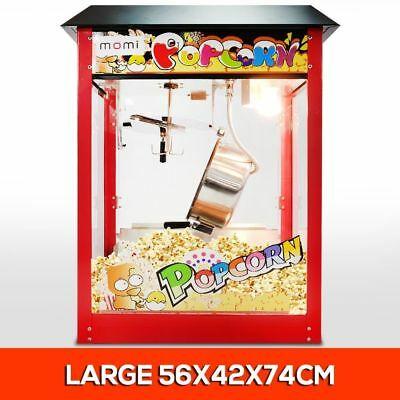 NEW 8oz Luxury Red Commercial Popcorn Maker Pop Corn Popper Machine EASY TO USE