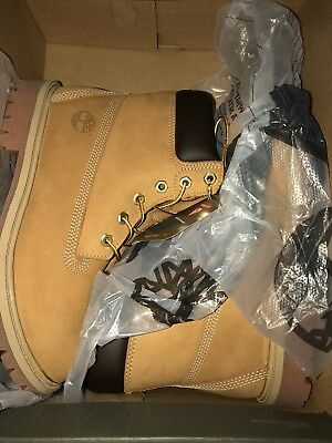 {12909} Timberland 6' Premium Waterproof Boot Junior *new In Box*  Sz 6.5