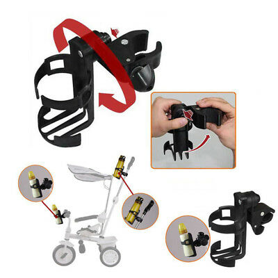 Plastic Milk Bottle Cup Holder for Baby Stroller Pushchair Buggy Bicycle PY73R
