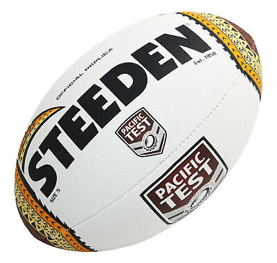 Steeden Pacific Nations Test Series Rugby League Replica Ball - Size 5