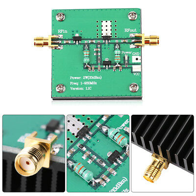 1-930MHz 2W RF Broadband Power Amplifier Module for Radio Transmission FM HF VHF