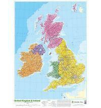 Map of UK and Ireland by Schofield & Sims Ltd (Poster, 2002)
