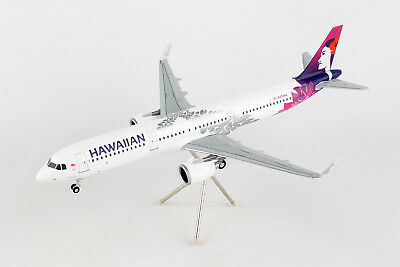 Gemini200 Hawaiian Airlines Airbus A321neo G2HAL675 1/200, REG# N202HA. New