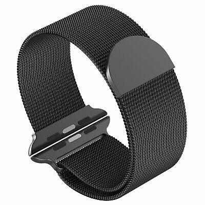 Milanese Magnetic Loop Stainless Steel Strap Band For Apple Watch Series 3/2/1