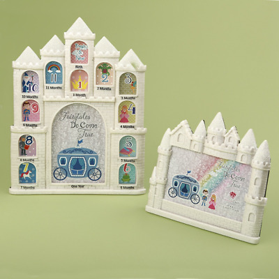 Castle First Year Collage Baby Picture Frame & Castle Baby Picture Frame Bundle