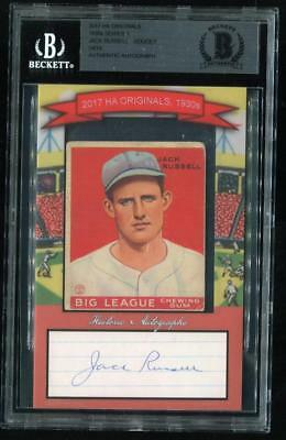 1933 Goudey Jack Russell #167 with signature cut 14/14 - Beckett Authe... Lot 27