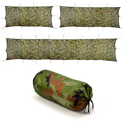3 Sizes Camo Net Netting Tent Camouflage Large Camping Hunting Shelter