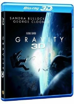 Blu Ray 3D + 2D : Gravity 3D + Version 2D - NEUF