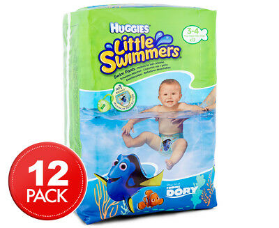 Huggies Little Swimmers 7kg-15kg 12pk Nappies