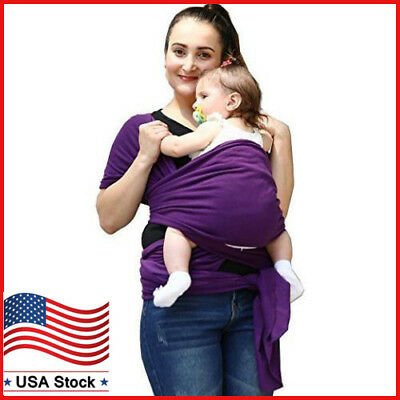 Baby Wrap Baby Sling Carrier Soft Cotton Nursing Cover Baby Wrap for Newborns