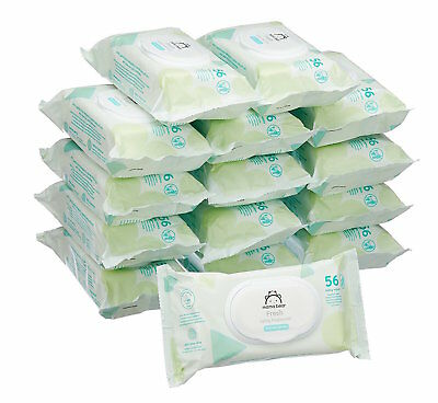 Baby Wet Wipes Sensitive Unscented Baby Wipes 15 Pack Soft Strong Free Shipping