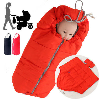 Child Baby Trolley Footmuff Holds Quilt Mattress Sleeping Bag Cotton Soft Warm