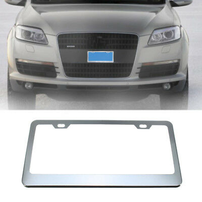 Stainless Steel Car License Number Plate Holder Frame Tag Cover For US Vehicle  sc 1 st  PicClick UK & STAINLESS STEEL Car License Number Plate Holder Frame Tag Cover For ...
