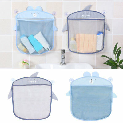 2 Colors Baby Bath Bathtub Toy Mesh Net Bag Storage Organizer Holder Bath MMKK