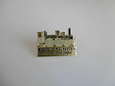 """PIN'S SNCF: MUSEE DE MULHOUSE """"locomotive"""""""