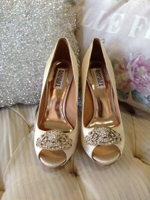Badgley Mischka Bridal Shoes - Goodie - brand new in box. Size 7.5