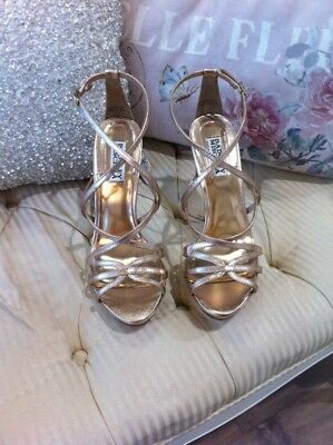 Badgley Mischka Bridal Shoes - ADONIS ll brand new in box. size 9.5 last one!!