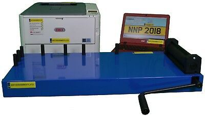 Number Plate Printer Maker Machine System Professional Level  Brand New