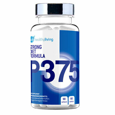 WBP P375 High Strength Fat Burner Weight Loss Slimming Diet Pills Capsules