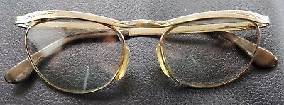 Vintage MARWITZ OPTIMA 18 MM GOLD FILLED eyeglasses FRAME 135 48