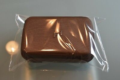 "Saudi Arabian Airlines ""SAUDIA"" Amenitykit""Porsche Design"" darkbrown,New!!!"