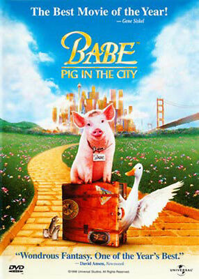 Babe: Pig in the City DVD NEW
