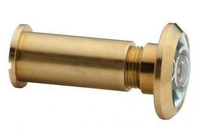 Brass Door Security Viewer 180 Degree View Angle