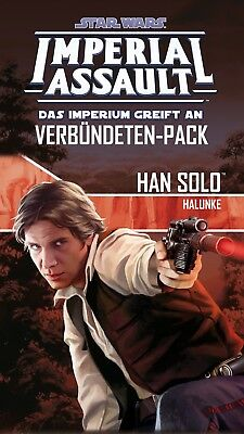 Star Wars Imperial Assault - Han Solo (German) Rebels Imperium Halunke