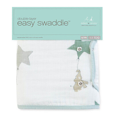 Aden and Anais Easy Swaddle - Up, Up, & Away (L)