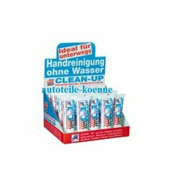 20x25ml Handreiniger Clean-Up TIP TOP Thekendisplay Laden Werkstatt Tresen