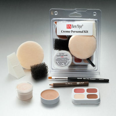 Ben Nye Personal Makeup Kit Fair:Lightest NEW Free Shipping Theatre
