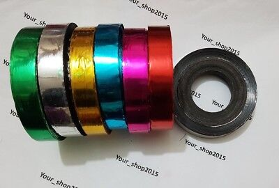 147 Meter Shiny Roll Present wrapping curling arts Craft Decorative double side
