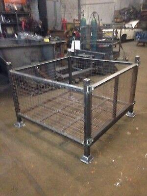 Stackable Heavy Duty Caged Stilage