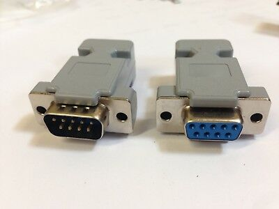 DB9 Solder Plug And Socket 9 Way Serial D Sub Connectors Male & Female