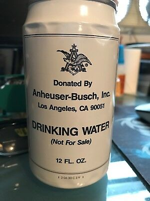 ANHEUSER-BUSCH, INC. L.A. CA 90051 Beer Can DRINKING WATER Olympics 7/31/92