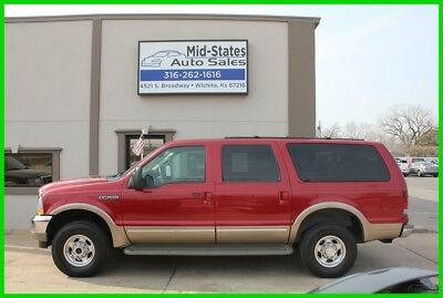 2002 Ford Excursion Limited 2002 Limited Used 6.8L V10 20V Automatic 4WD SUV