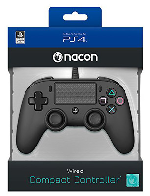 nacon Compact Wired Controller for PlayStation 4 (Video Game Accessories, Playst