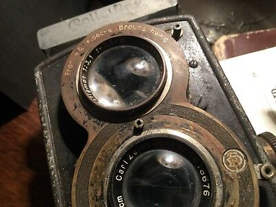 ROLLEIFLEX COMPUR Early Vintage Camera - old Circa 1930's