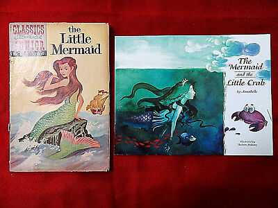 Classics Illustrated The Little Mermaid No 525 and The Mermaid & The Little Crab