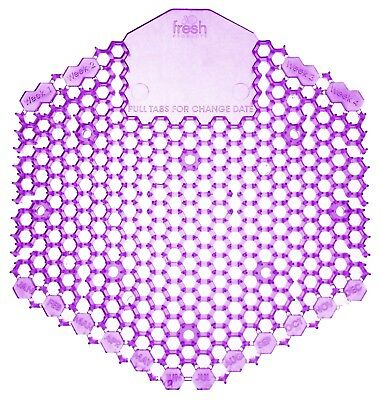 Urinal Screen Wave 3D 2 Pack Purple Fabulous