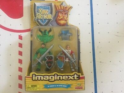 FISHER PRICE IMAGINEXT KING ARTHUR Sir Gawain vs the Green Knight H2380